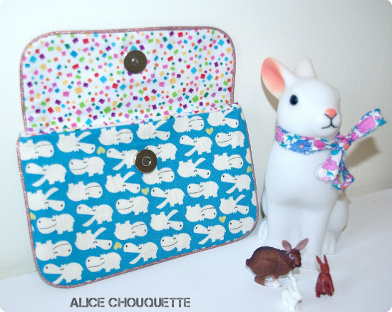 Dans l'atelier d'Alice Chouquette