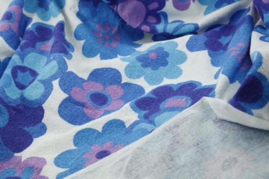tissu éponge vintage, soft towell fabric