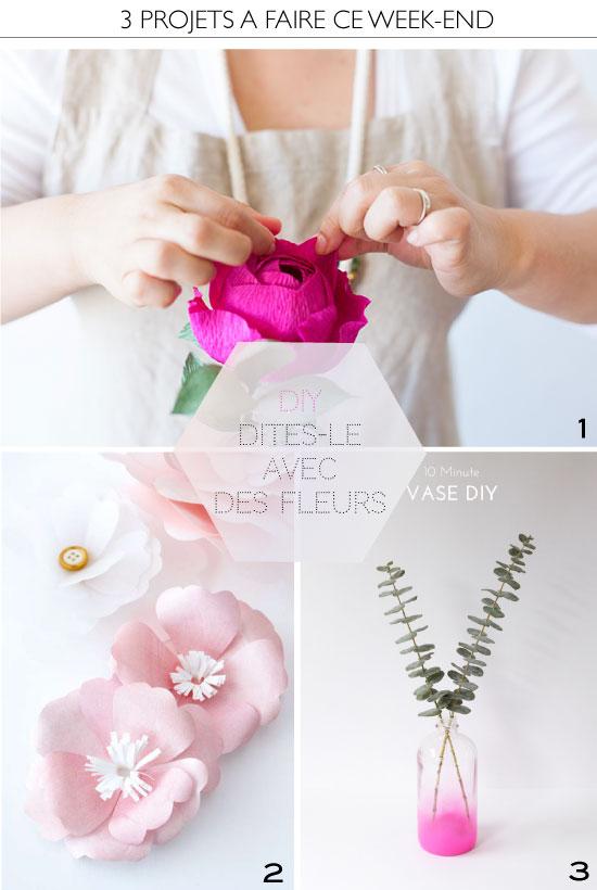 DIY avec des fleurs