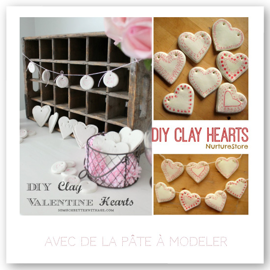 DIY Clay Heart Garland