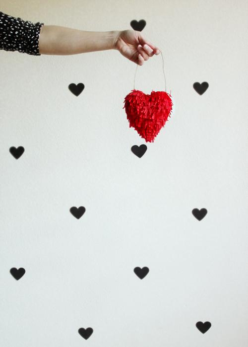 diy valentines heart // hankandhunt
