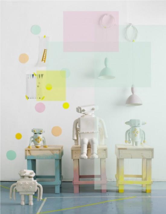 Chambres d\'enfants : tendance pastel