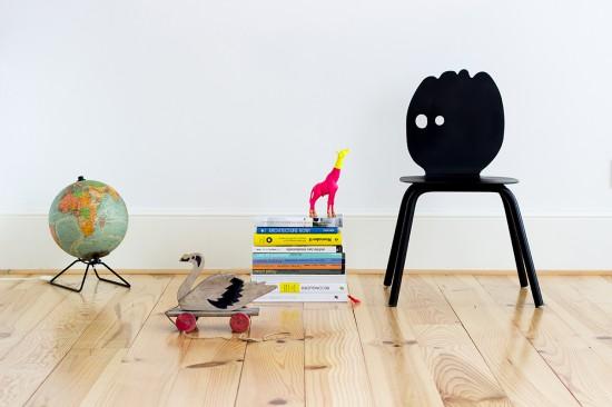 La série de chaises Lunatiques par Heju