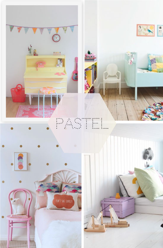 chambres d 39 enfants tendance pastel. Black Bedroom Furniture Sets. Home Design Ideas