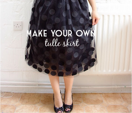 your own tulle skirt // randomly happy