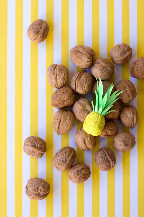 DIY Itty Bitty Pineapples // STUDIO DIY