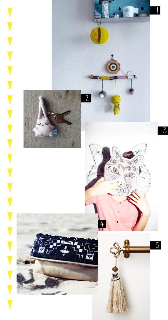 5 créations textiles pour tous