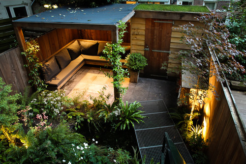 La transformation d 39 un jardin de 30m2 amsterdam for Zen tuin maken