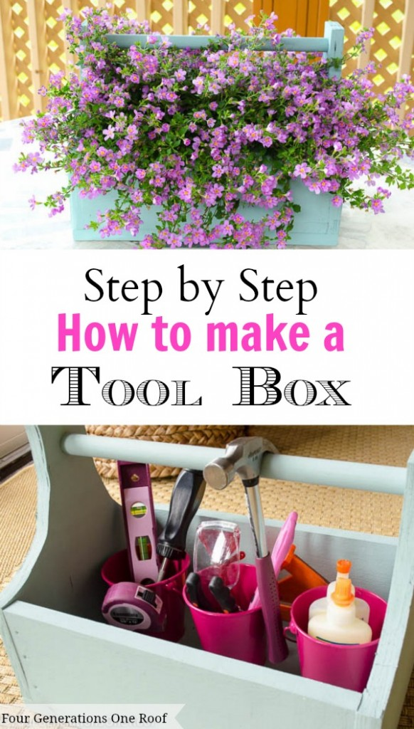 How to make a tool box // Four generations one roof