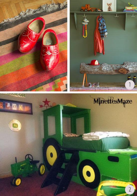 Chambres d 39 enfants du genre agricole for Chambre agricole