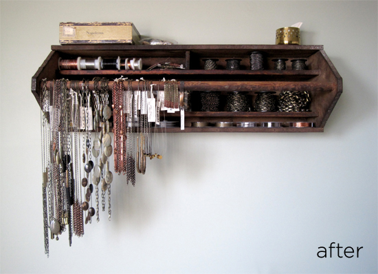 Jewelry Organizer // Knoed