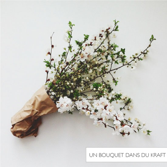 Bouquet dans du kraft // Byzachary
