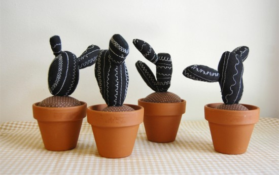 stuffed cacti // Sian Keegan