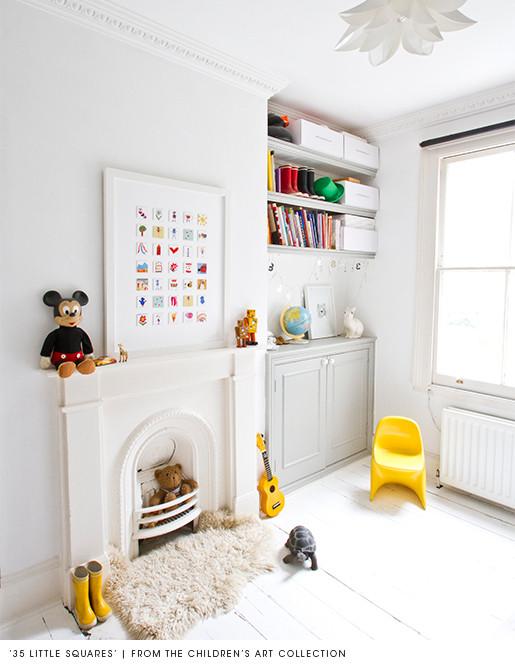 Inspiration pour peindre le plancher d 39 une chambre d 39 enfant - Comment peindre une chambre d enfant ...