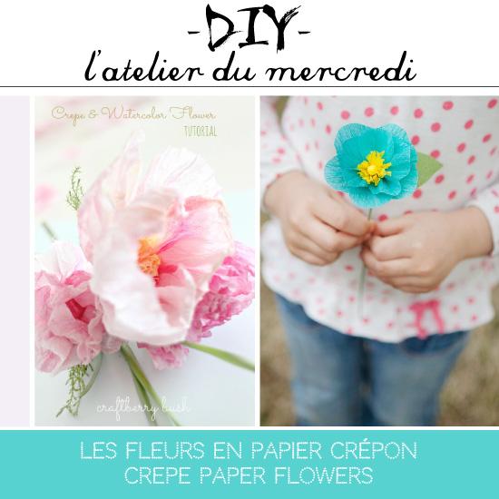 Crepe Paper Flower DIY // Fleurs en papier crépon