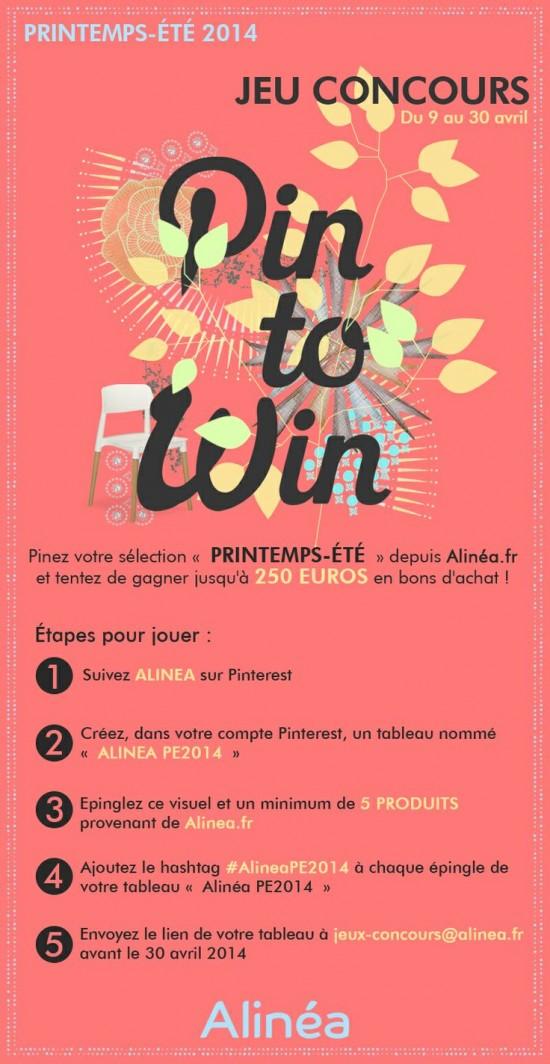 Concours alinéa sur Pinterest