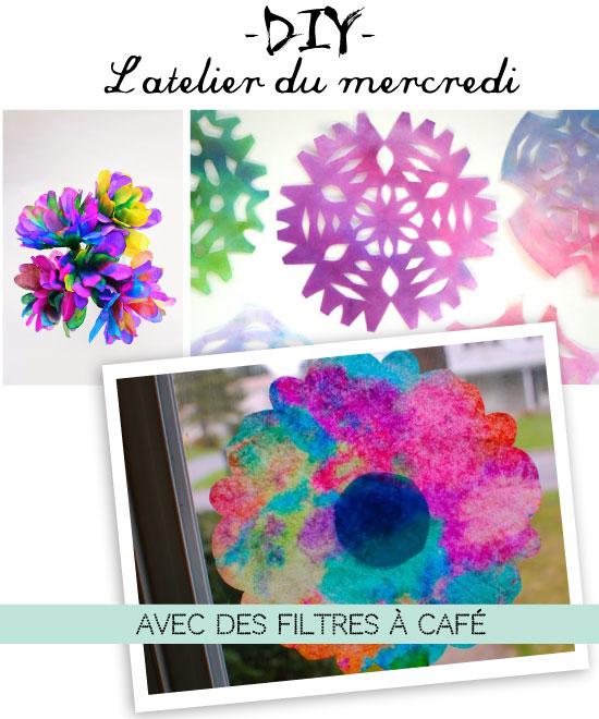 DIY avec des filtres à café