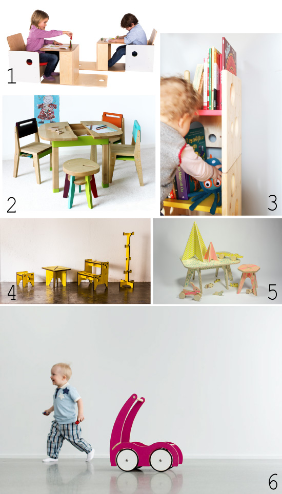 Mobilier // Kids room zoom