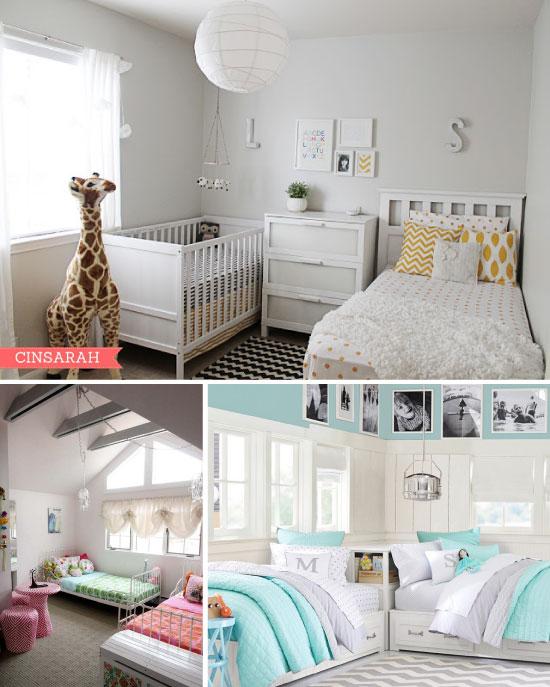 chambres d'enfants pour 2 // Shared room