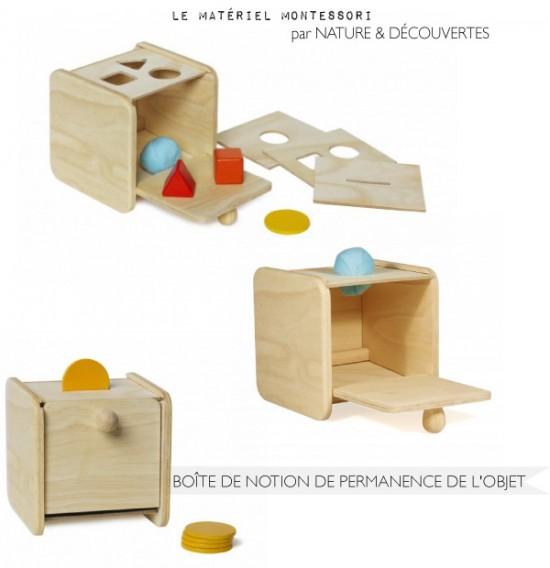 Matériel Montessori // Nature & découvertes