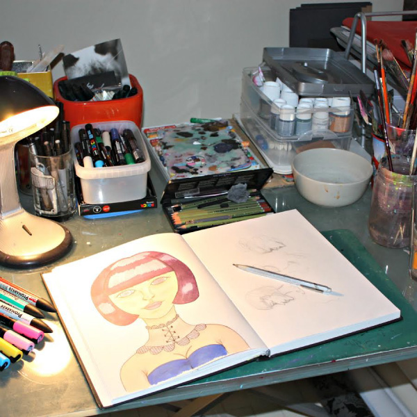 Dans l'atelier de By Erika