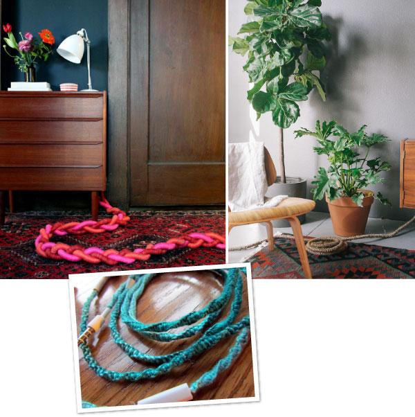 DIY avec des câbles // Organize your cords