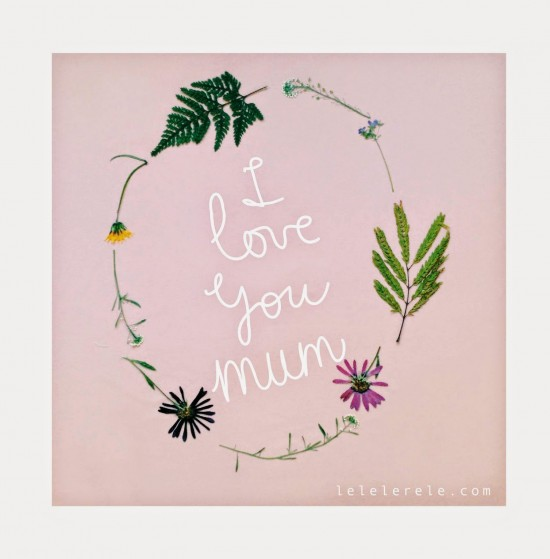 LELELERELE HANDMADE // I love you mum