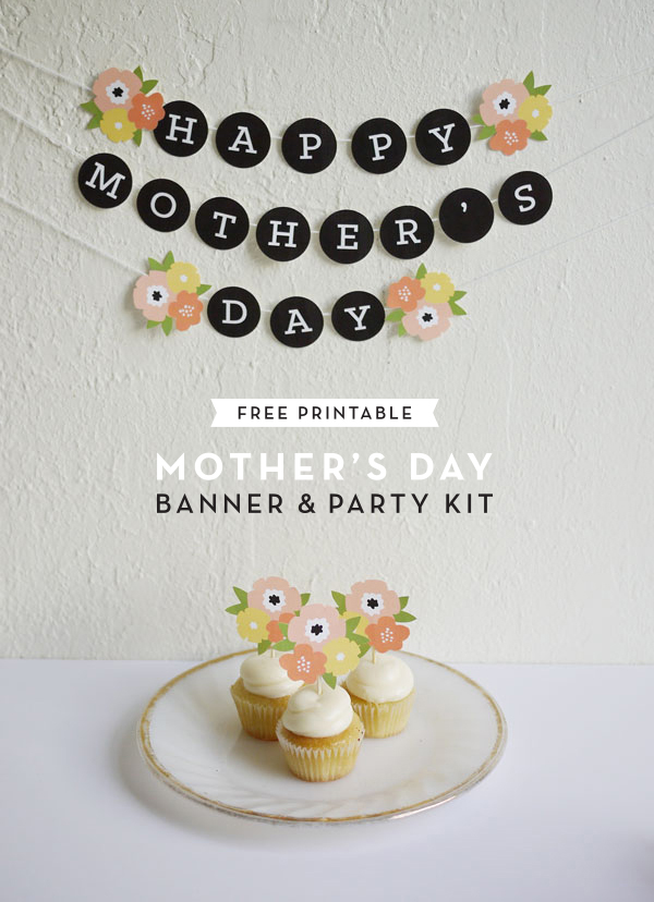 OH HAPPY DAY // Mother's day banner