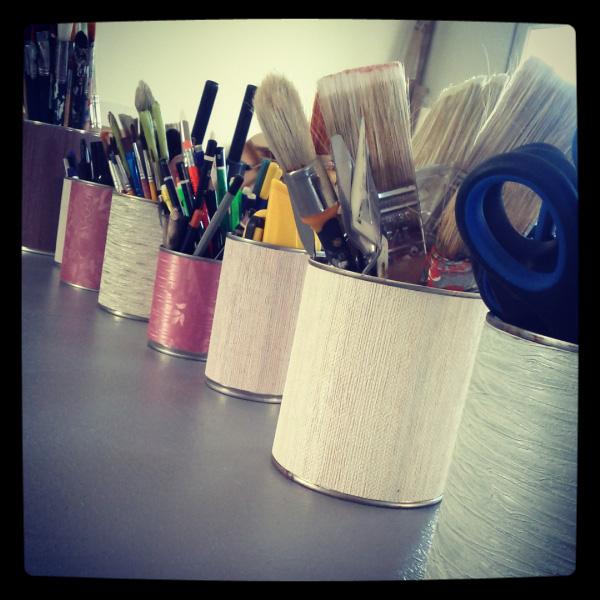 Dans l'atelier de Karteko
