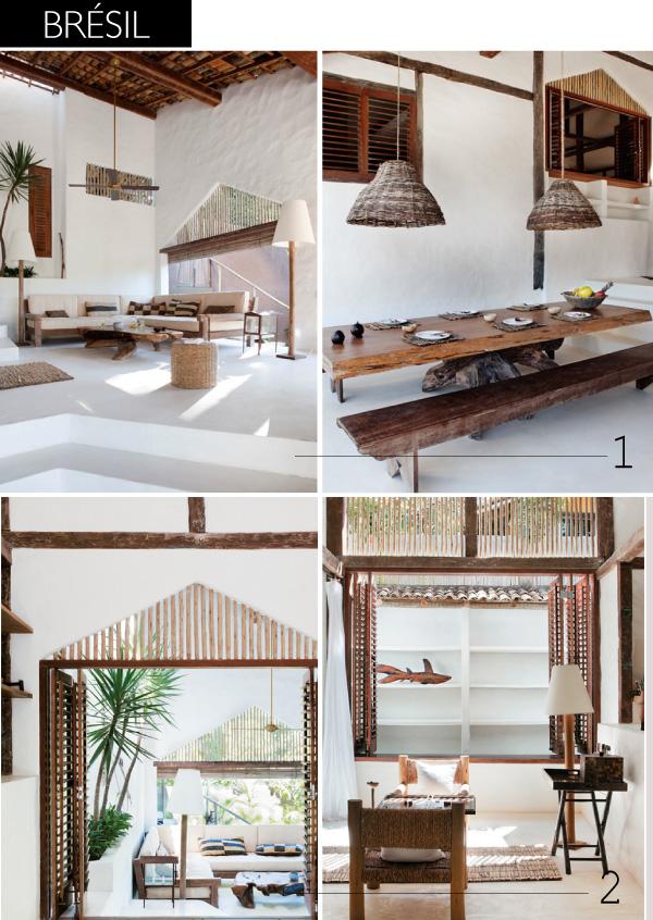 D co rustique chic pour maisons de vacances - Maison de vacances deborah french design ...