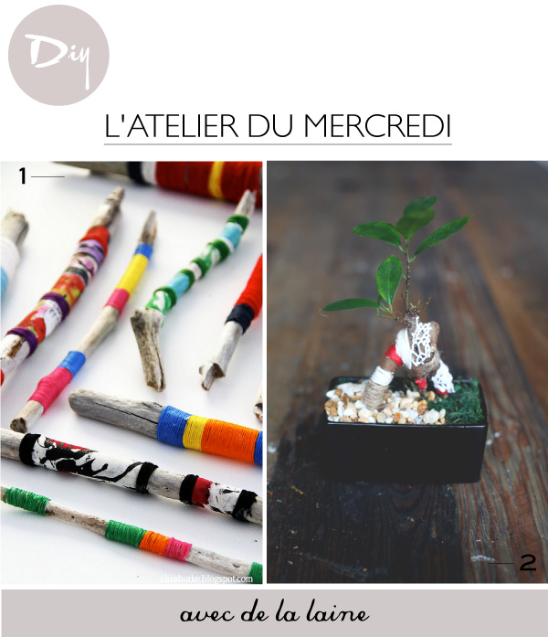 DIY avec de la laine // Yarn Craft Ideas