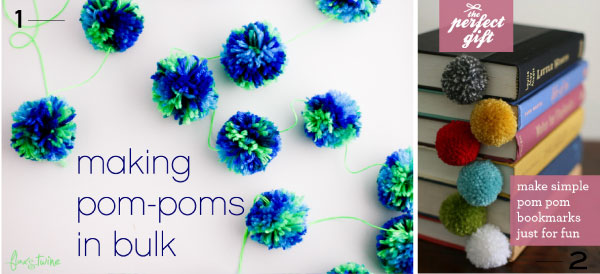 DIY Pompon ideas