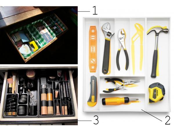 Decluttering drawers // Ranger ses tiroirs