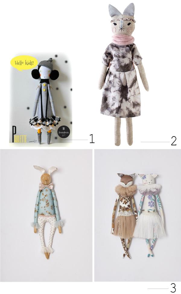 Poupées d'artistes // Artist dolls