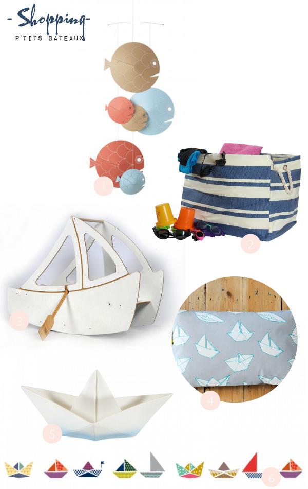 Shopping ptits bateaux