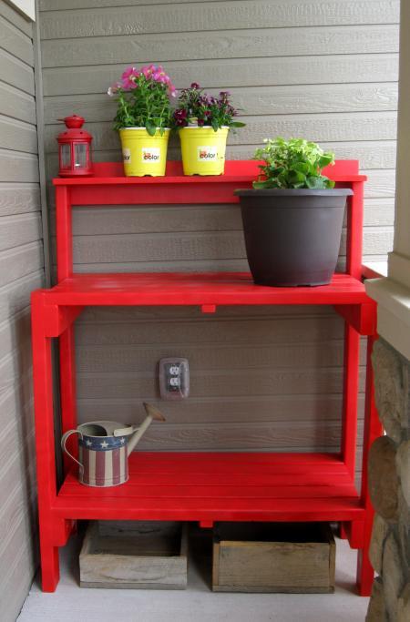 Simple Potting Bench DIY // ANA WHITE