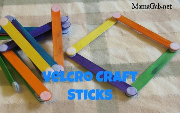 Velcro Craft Sticks2 Mamagab