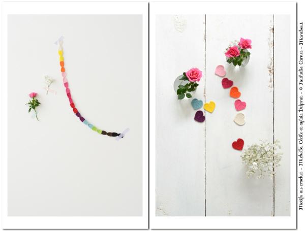 Motifs au crochet - Emalisa - Photos Nathalie Carnet - Marabout