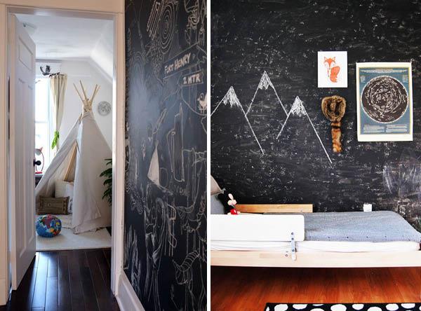 Chambres Denfants Peinture à Tableau Noir