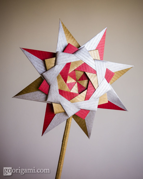 Braided Corona Star // Goorigami