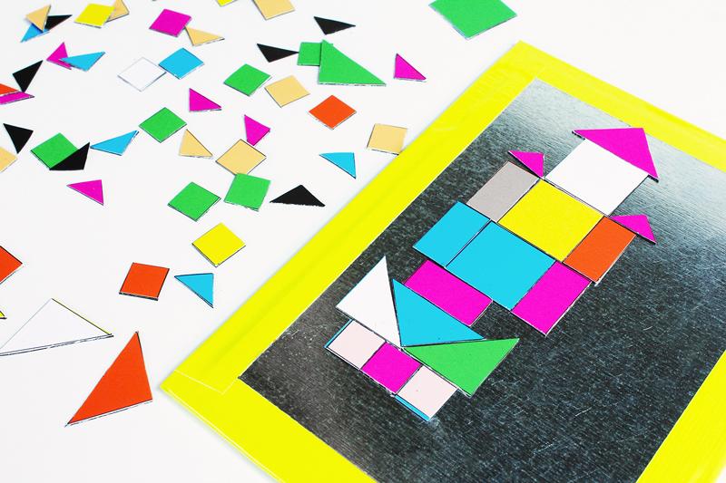 Art-Ideas-for-Kids-MOSAIC-MAGNETS // Babble-Dabble-Do