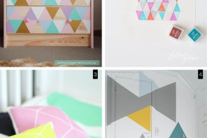 diy geometrical pattern