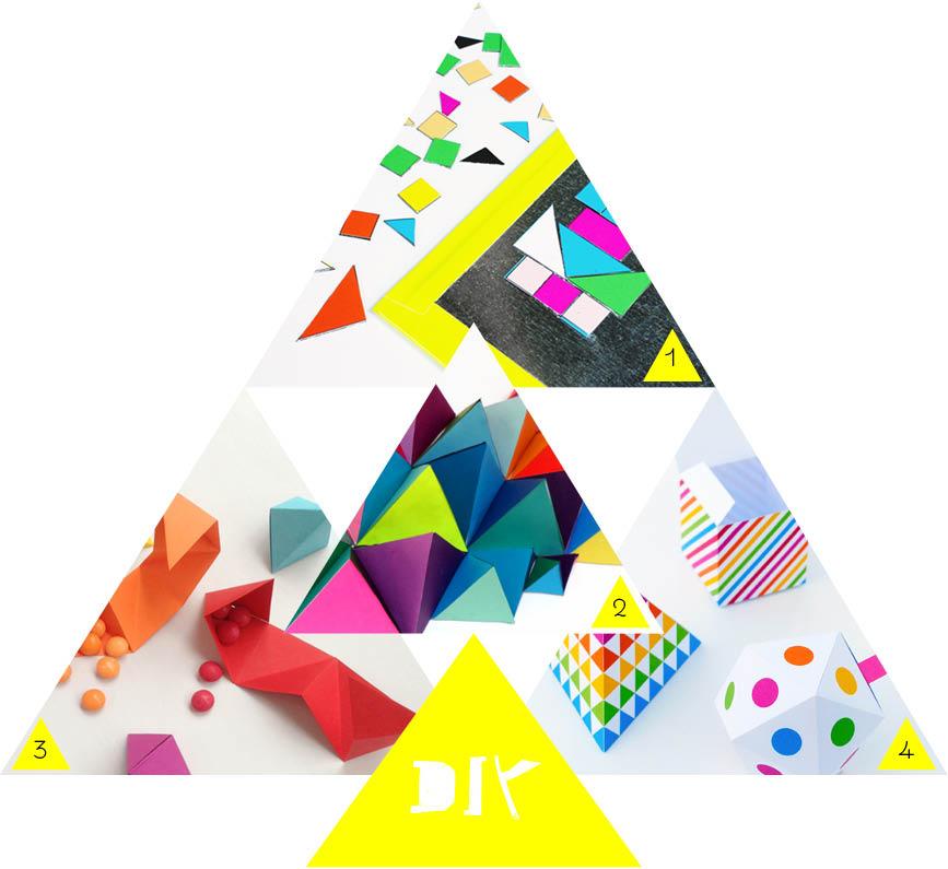 diy geometrical toys