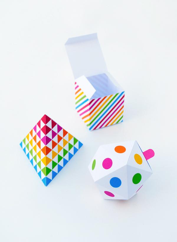 rainbow-boxes // Mini eco - Oh happy day