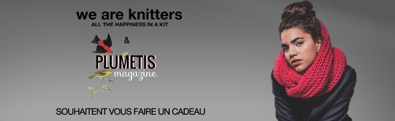 Concours WeAreKnitters - Plumetis magazine