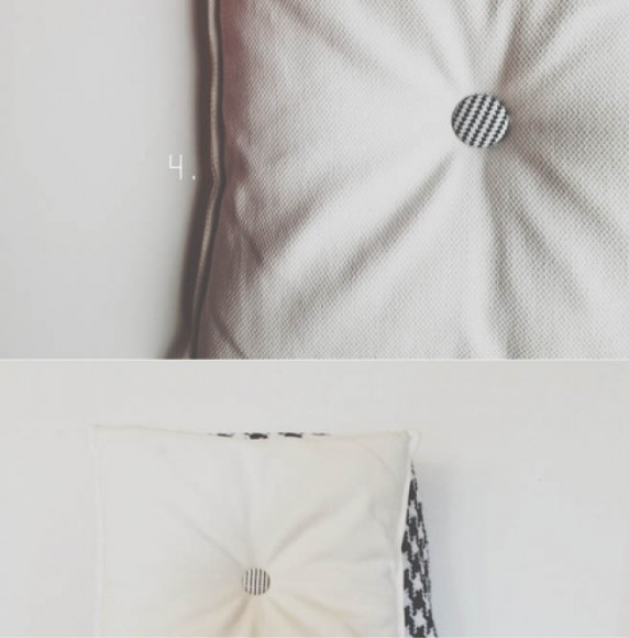 Armommy's fabric-covered button projects // Spoonflower