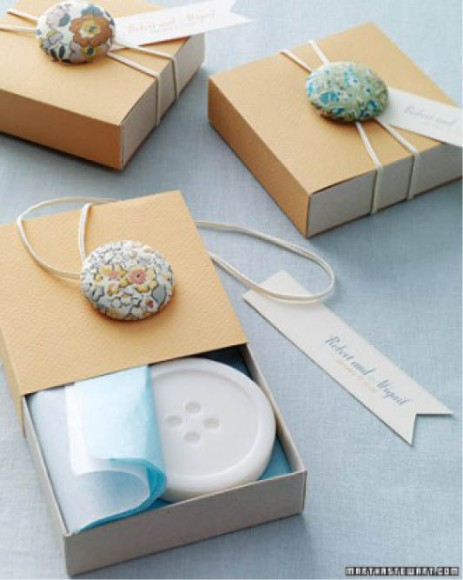 BUTTON WEDDING IDEAS // Martha Stewart Weddings