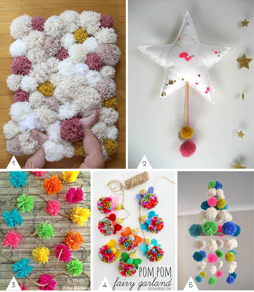 Inspiration : DIY pompom