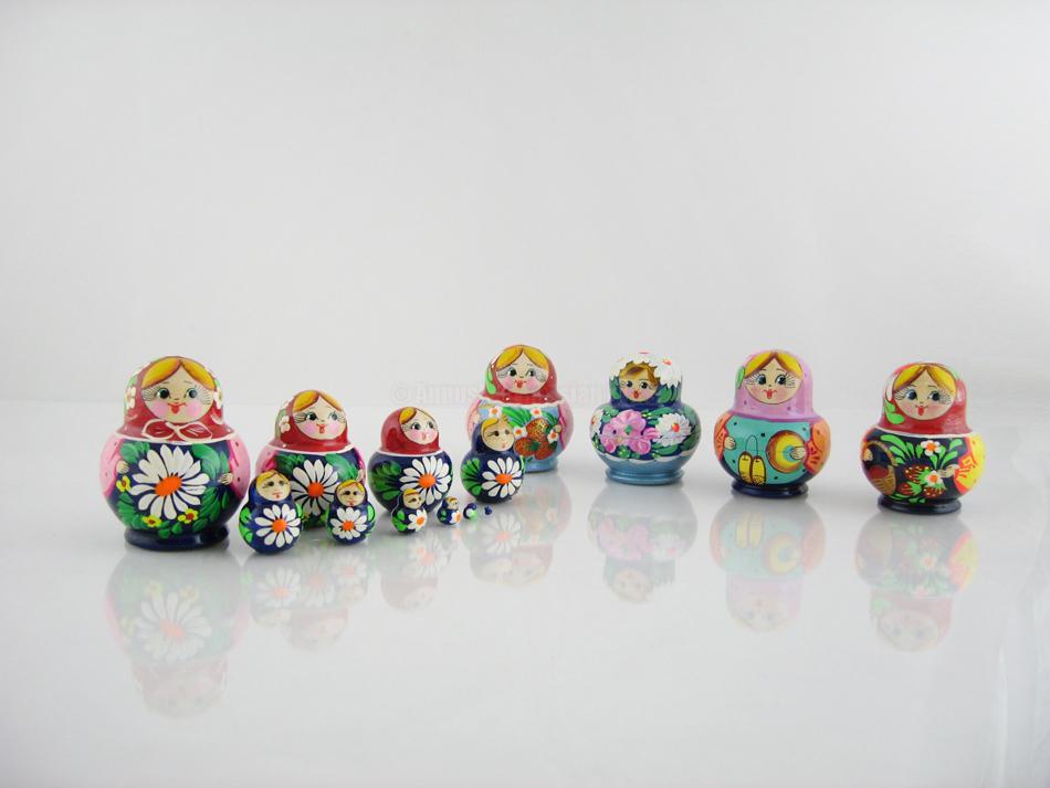 poupées russes 10 pièces Annushka