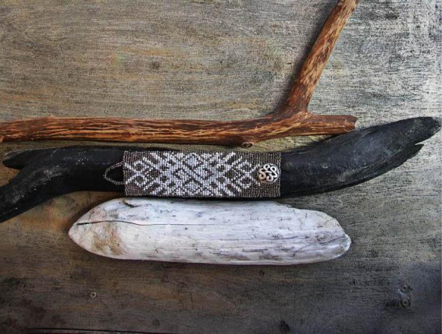 Tribal Latvian Pattern